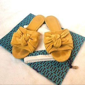 Tory Burch Annabelle bow slide sandal 7.5